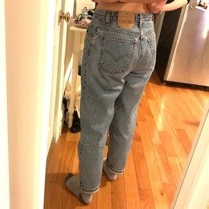 Levi's vintage 15951 jeans—fits size 6
